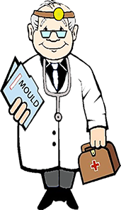 Mould Doctor character