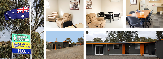 Mould Doctor depot has Comfortable facilities with air conditioning, lunch room and big screen TV.